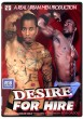 Desire for Hire DVD - Front