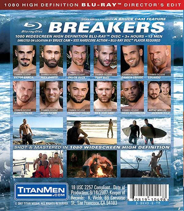 Breakers BLU-RAY - Back
