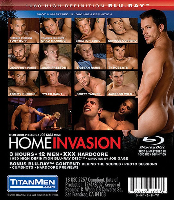 Home Invasion BLU-RAY - Back