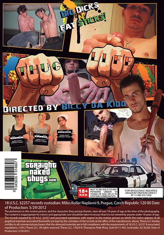 Straight Naked Thugs DOWNLOAD - Back