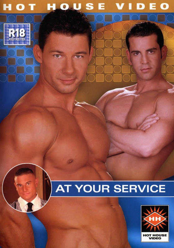 At Your Service DVD - Front