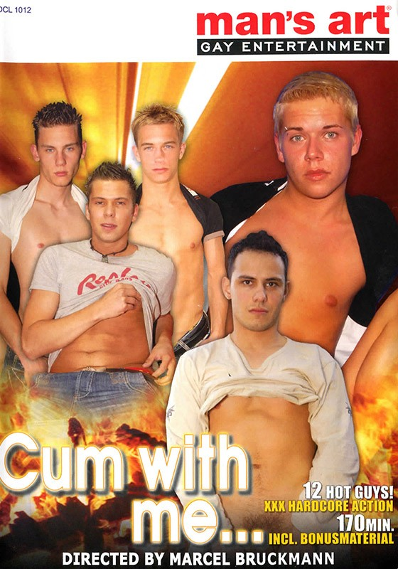 Cum With Me (Mans Art) DVD - Front