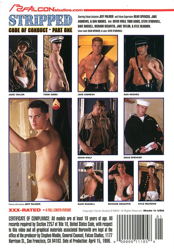 Code of Conduct part 1: Stripped DVD - Back