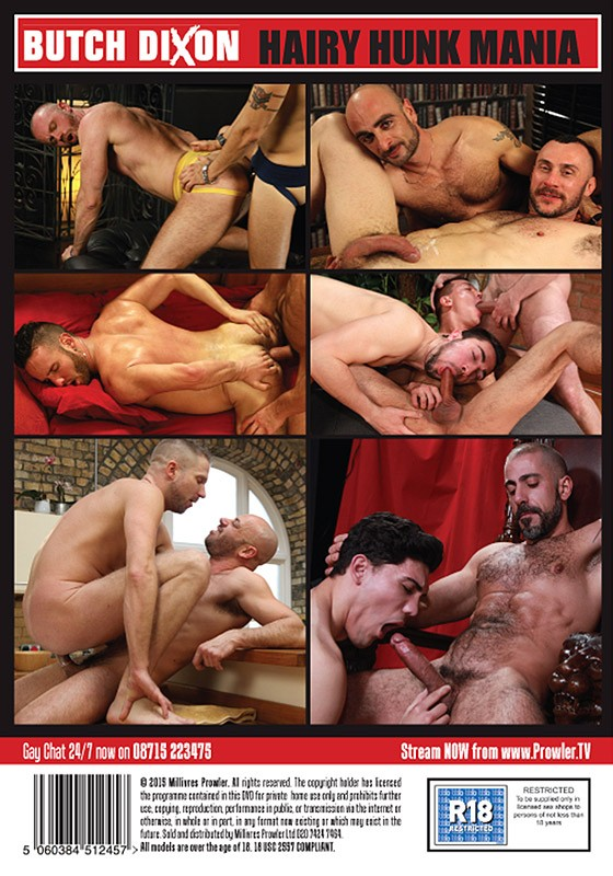 Hairy Hunk Mania DOWNLOAD - Back
