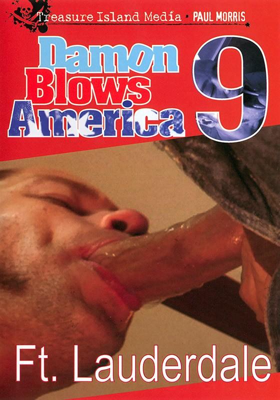 Damon Blows America #9 DVD - Front