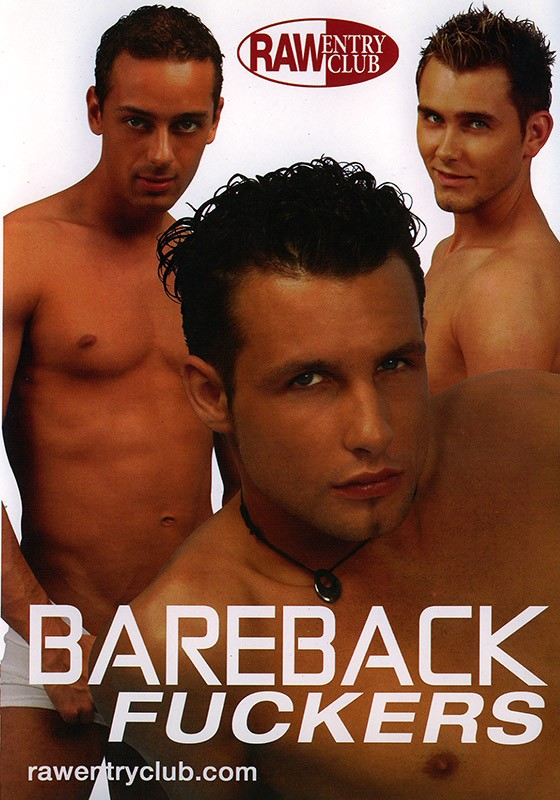 Bareback Fuckers DVD - Front
