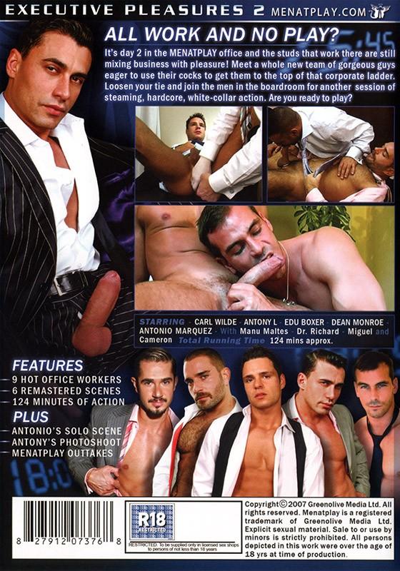 Executive Pleasures 2 DVD - Back