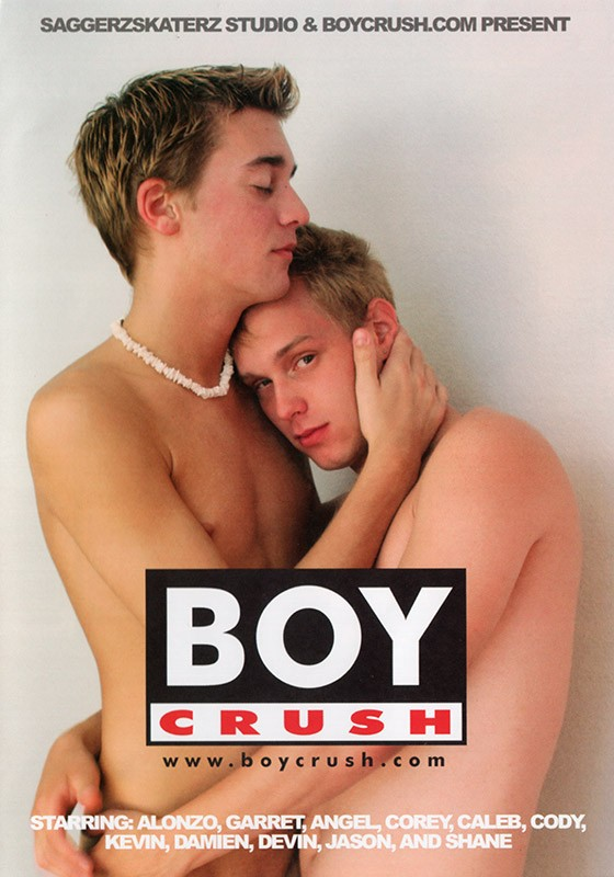 Boy Crush DVD - Front