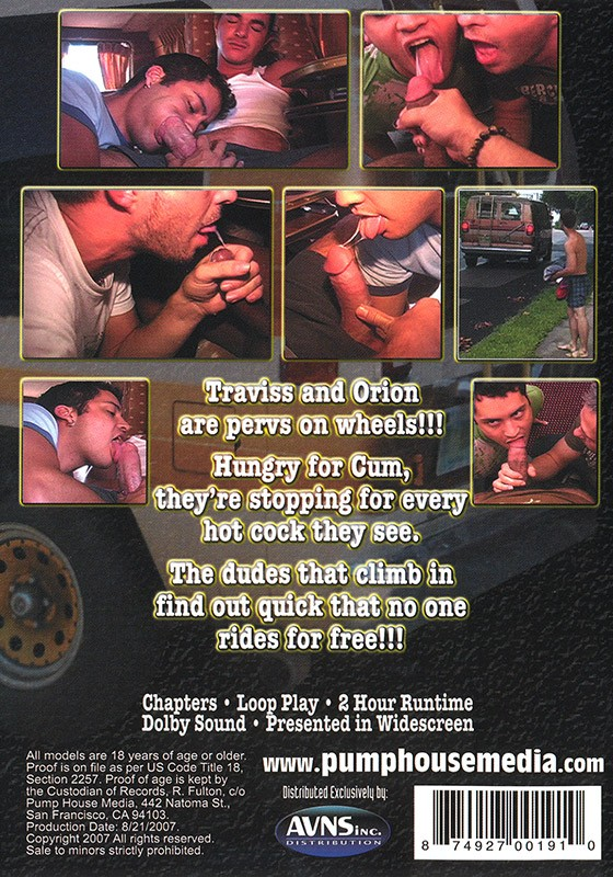 Fag Wagon DVD - Back