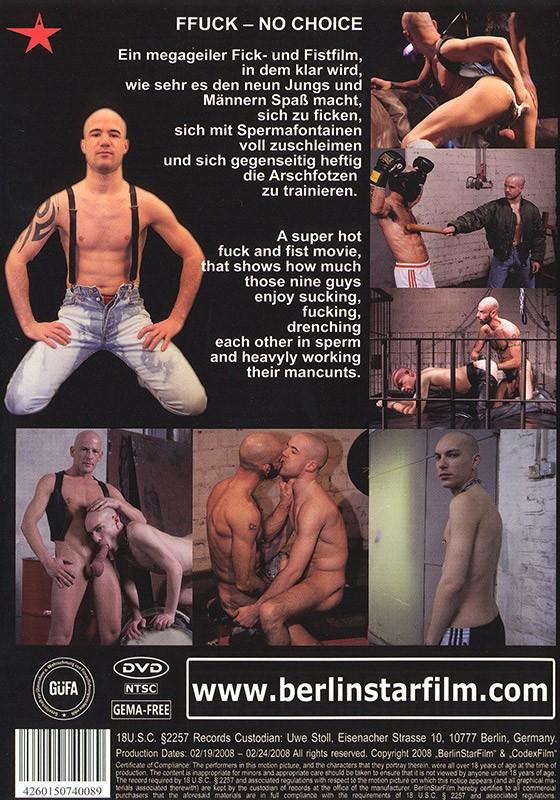 FFuck - No Choice DVD - Back