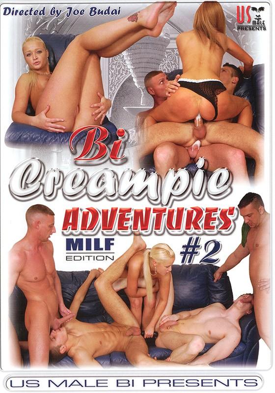 Bi Creampie Adventures 2: MILF Edition DVD - Front