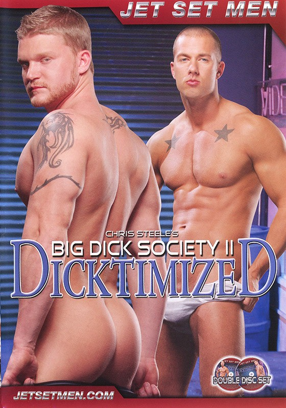 Big Dick Society 2: Dicktimized DVD - Front