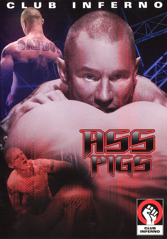 Ass Pigs DVD - Front