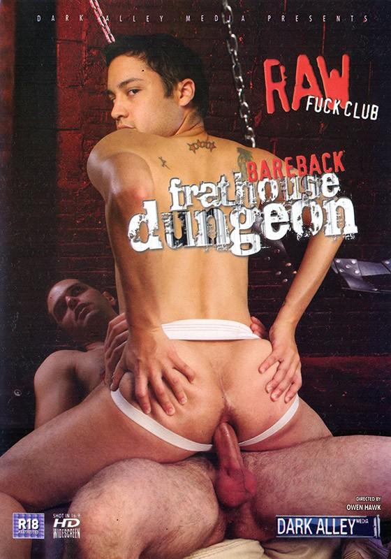 Bareback Frathouse Dungeon DVD - Front