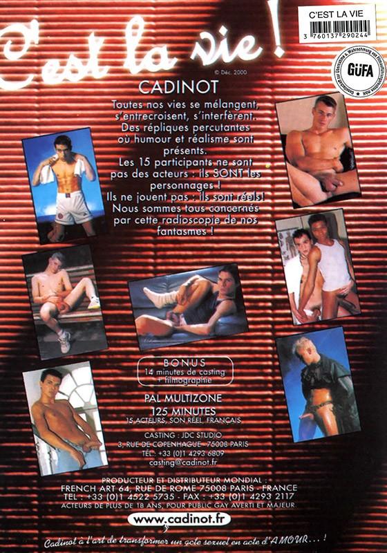 C'est La Vie DVD - Back