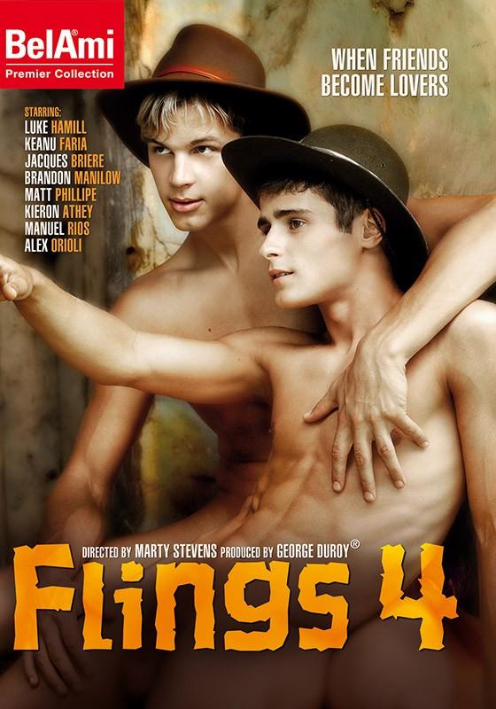 Flings 4 DVD - Front