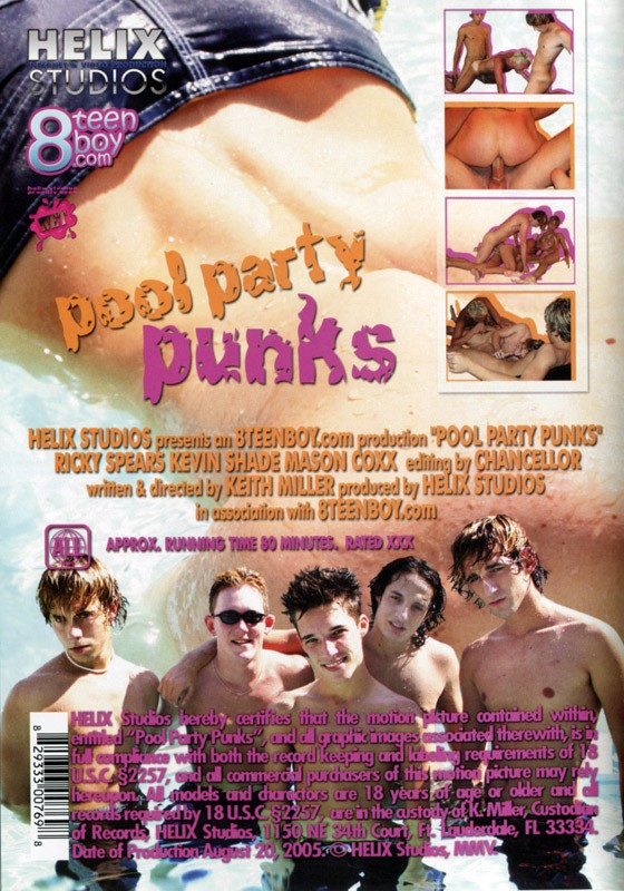 Pool Party Punks DVD - Back