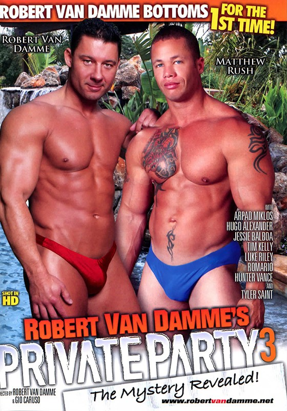 Private Party 3 DVD - Front