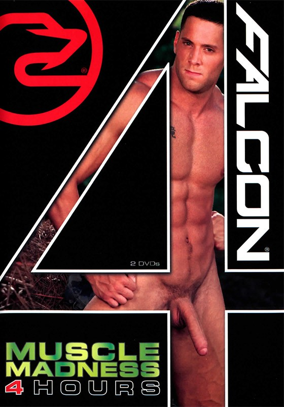 Falcon 4 Hours: Muscle Madness DVD - Front