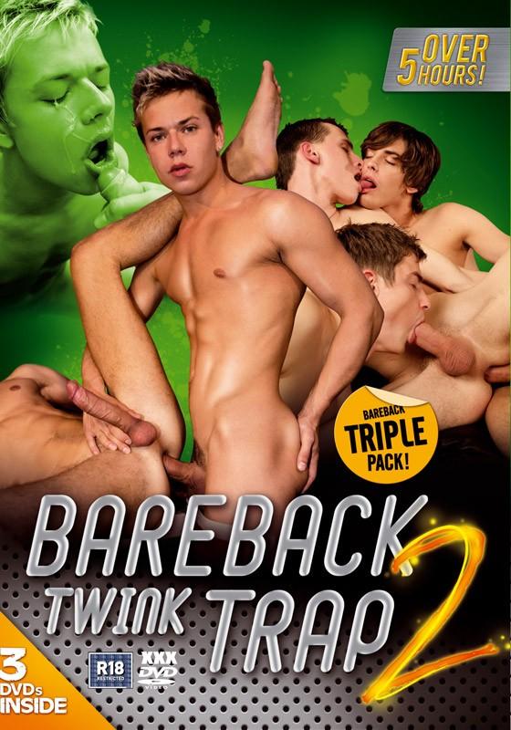 Bareback Twink Trap 2 3DVD Box Set - Front