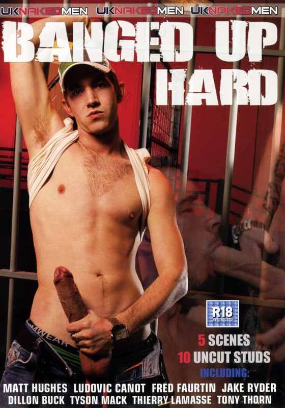 Banged Up Hard DVD - Front