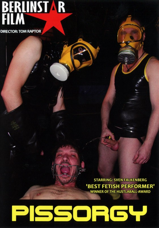 Piss Orgy DVD - Front