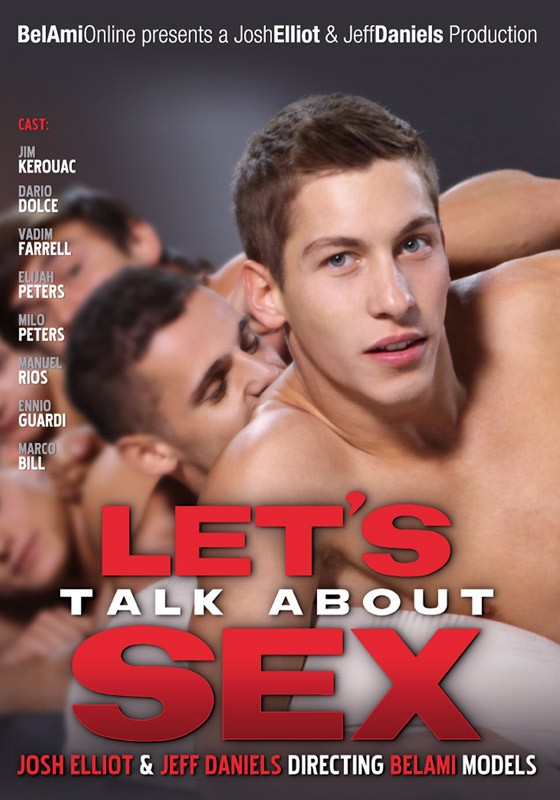 Let's Talk About Sex DVD - Front
