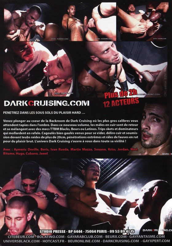 Dark Cruising 5 DVD - Back