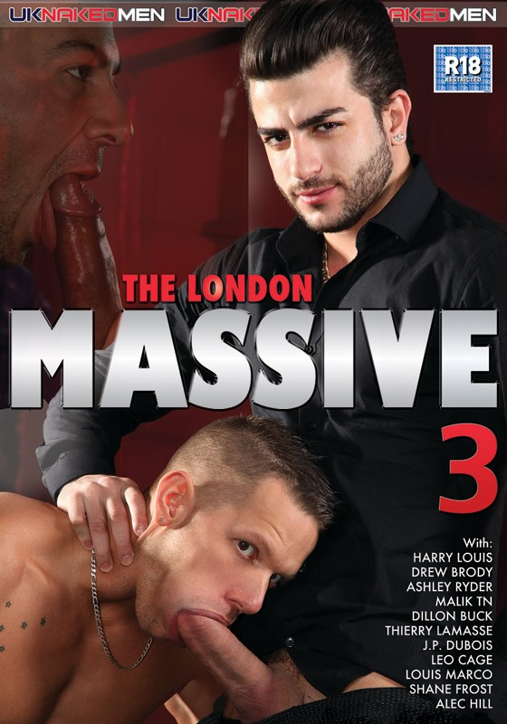 The London Massive 3 DVD - Front