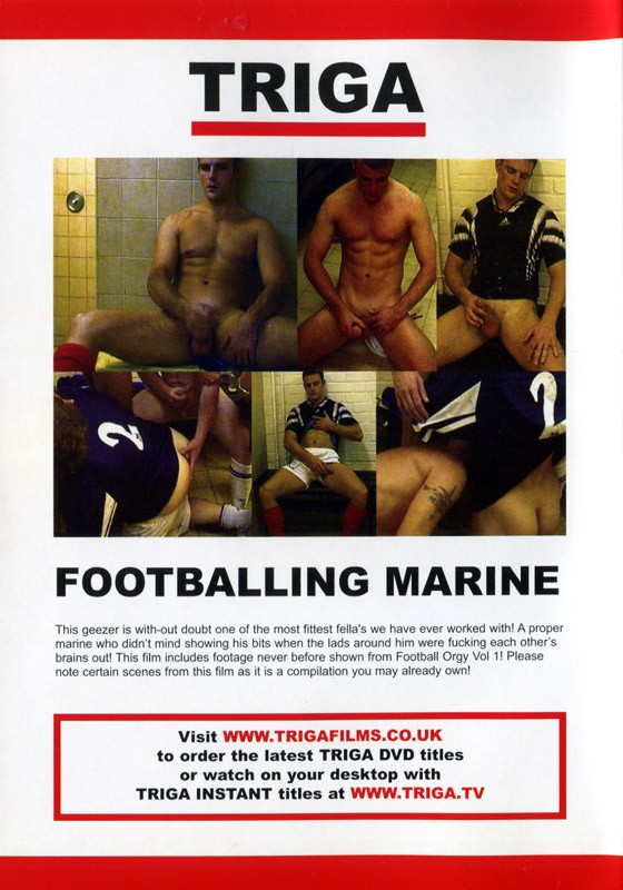 Footballing Marine Cover Back