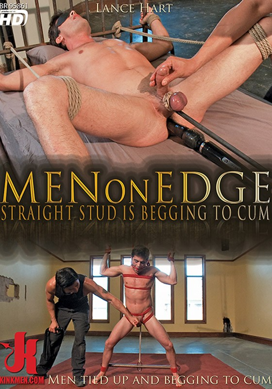 KINKMEN Men On Edge 13 Straight Stud Is Begging To Cum