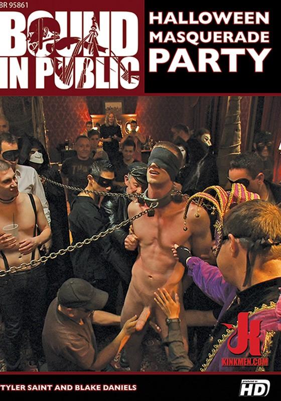 KINKMEN Bound In Public Halloween Masquerade Party