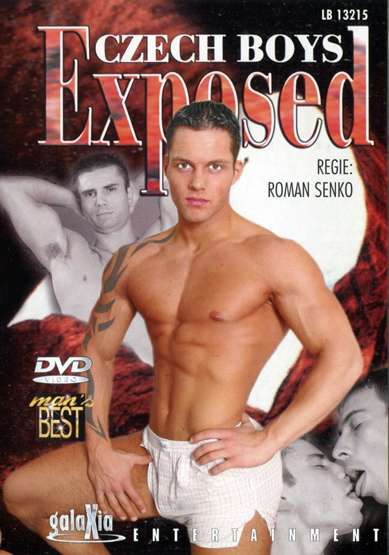 Czech Boys Exposed DVD - Front