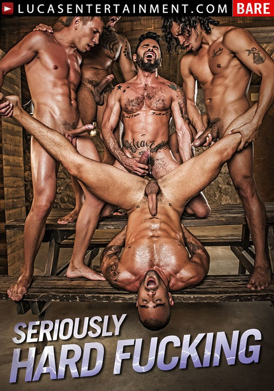 Seriously Hard Fucking DVD - Front