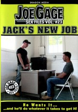 Joe Gage Sex Files vol. #23: Jack's New Job DVD