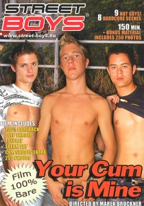 Your Cum is Mine DVD - Front