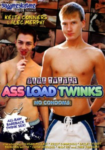 Ass Load Twinks DVD - Front