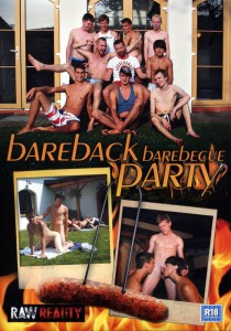Bareback Barebecue Party DVD - Front