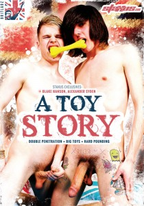 A Toy Story (Britladz) DVD - Front