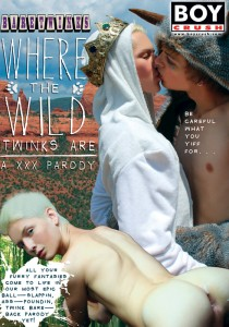 Where The Wild Twinks Are: A XXX Parody DVD - Front