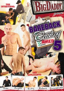Bareback Casting 5 DVD - Front