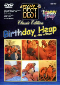Birthday Heap - Bi Sex Action DVDR (NC)