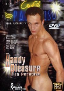 Randy Pleasure In Paradiso DVDR (NC)