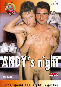 Andy`s Night DVD - Front