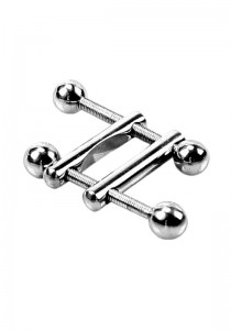 Nipple Clamps 2 End Ball - Front