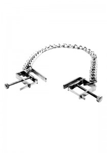 Nipple Clamps with Chain - Front
