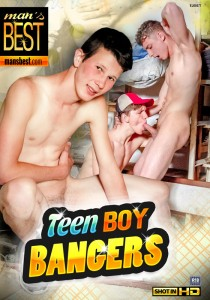 Teen Boy Bangers DVD - Front