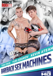 Bareback Sex Machines DVD - Front