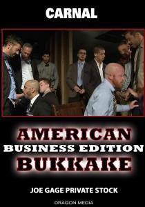 American Bukkake: Business Edition DVD (S)