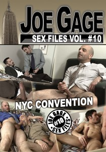 Joe Gage Sex Files vol. #10 NYC Convention DVD (S)